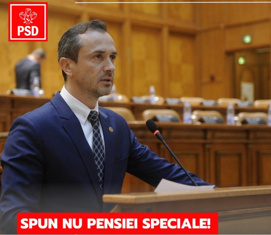 Deputatul Ştefan Muşoiu demisionează. Cică, NU vrea PENSIE SPECIALĂ!