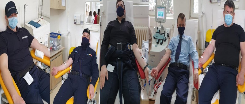 Jandarmii ialomiţeni dăruiesc speranță, din suflete bleu-jandarm!
