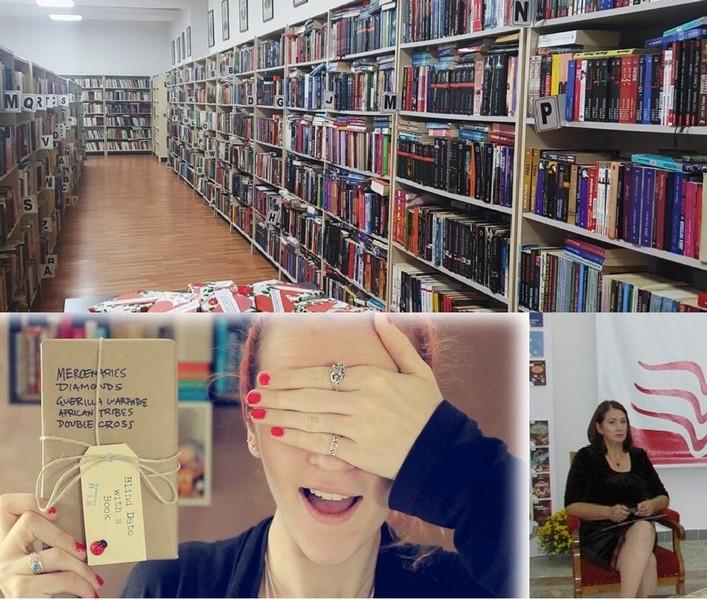 INEDIT. Biblioteca Judeţeană – întâlnire oarbă cu o carte